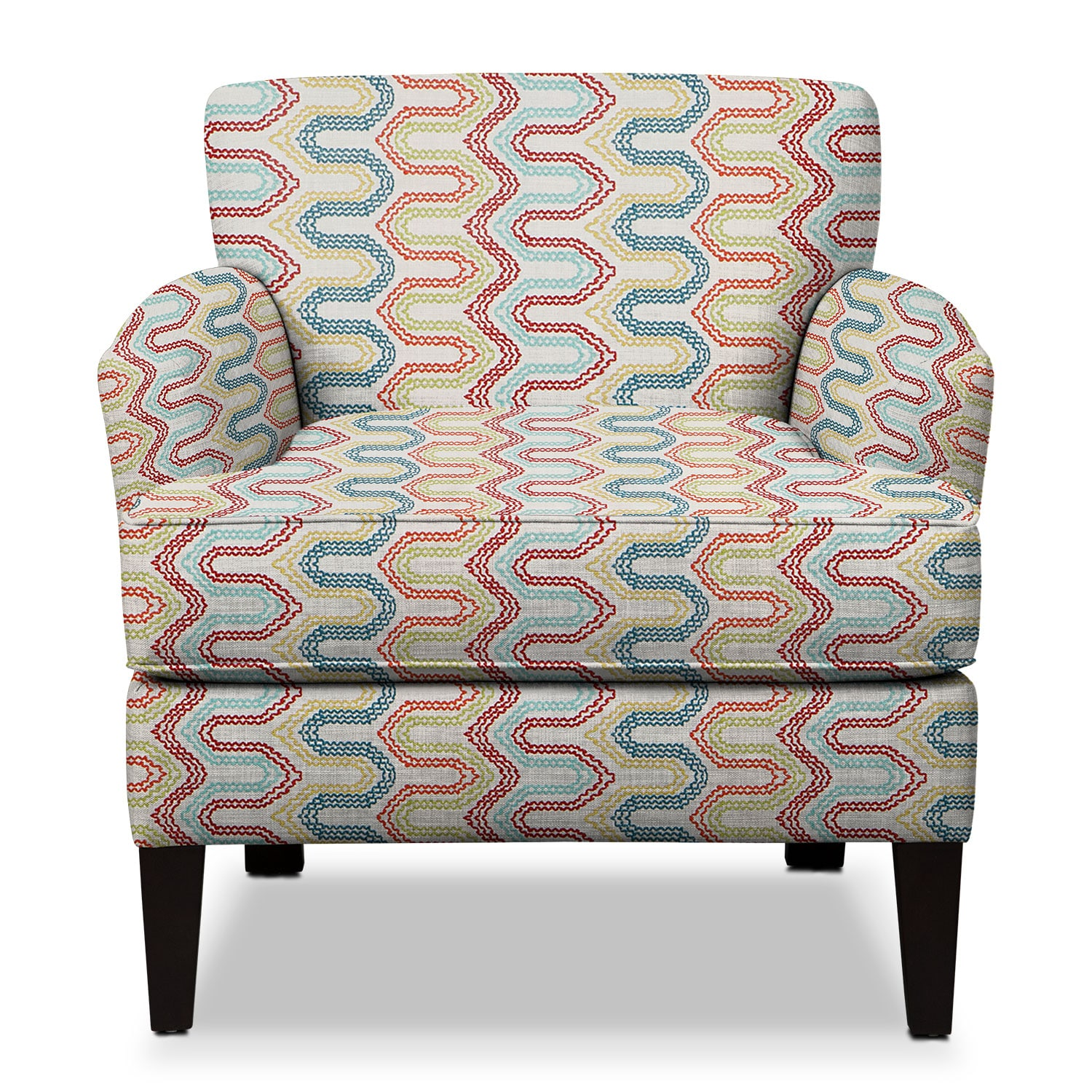 Living Room Furniture - Marcus Accent Chair- Multi