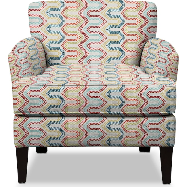 Living Room Furniture - Marcus Accent Chair - Multi