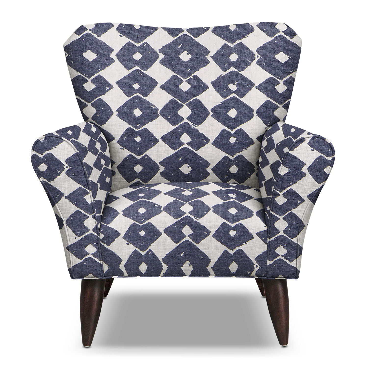 Accent and Occasional Furniture - Jessie Accent Chair - Blue
