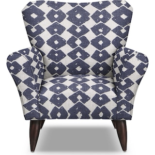 Jessie Accent Chair - Blue