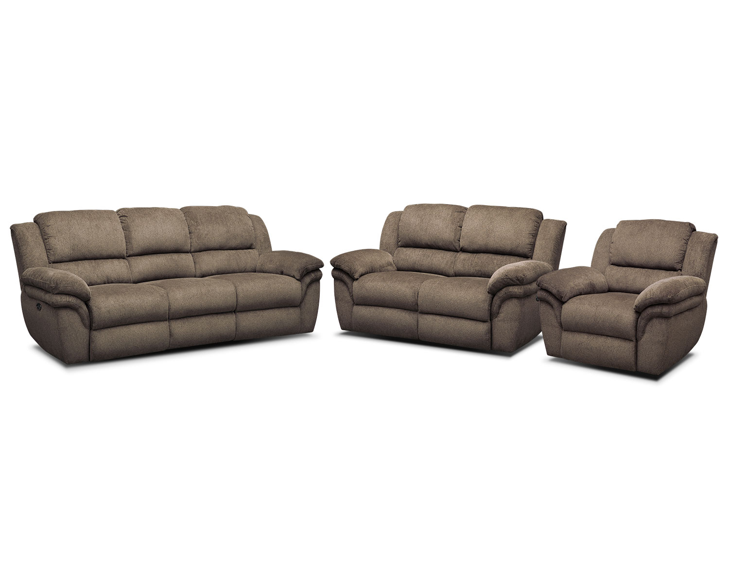 The Omni Mocha Power Reclining Living Room