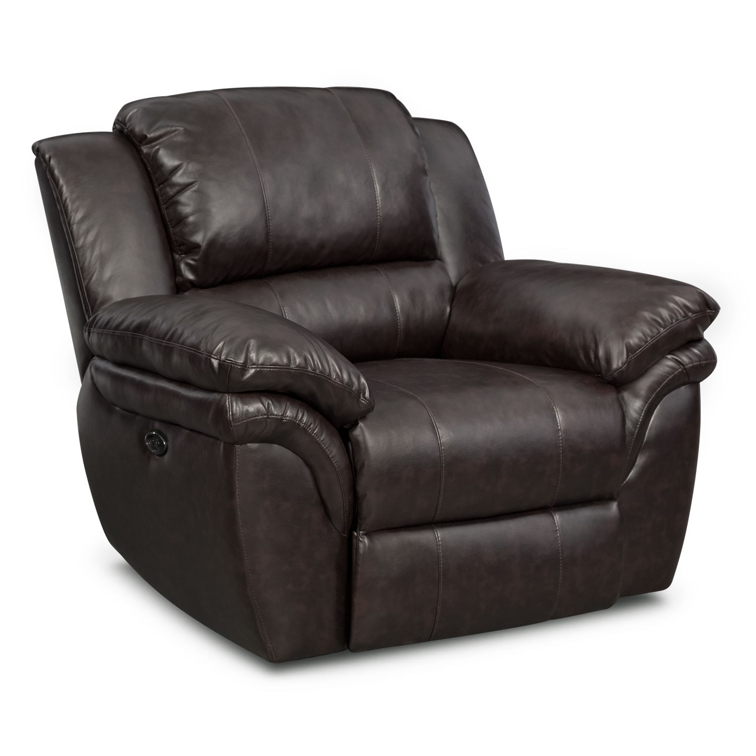Living Room Furniture - Aldo Dual-Power Recliner