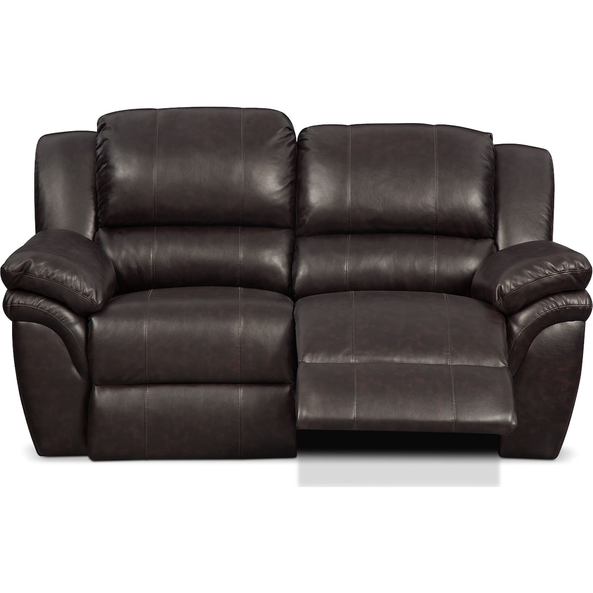 Aldo Manual Reclining Loveseat American Signature Furniture