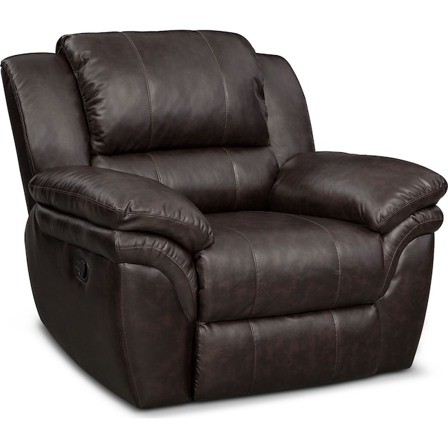 Living Room Furniture - Aldo Manual Recliner
