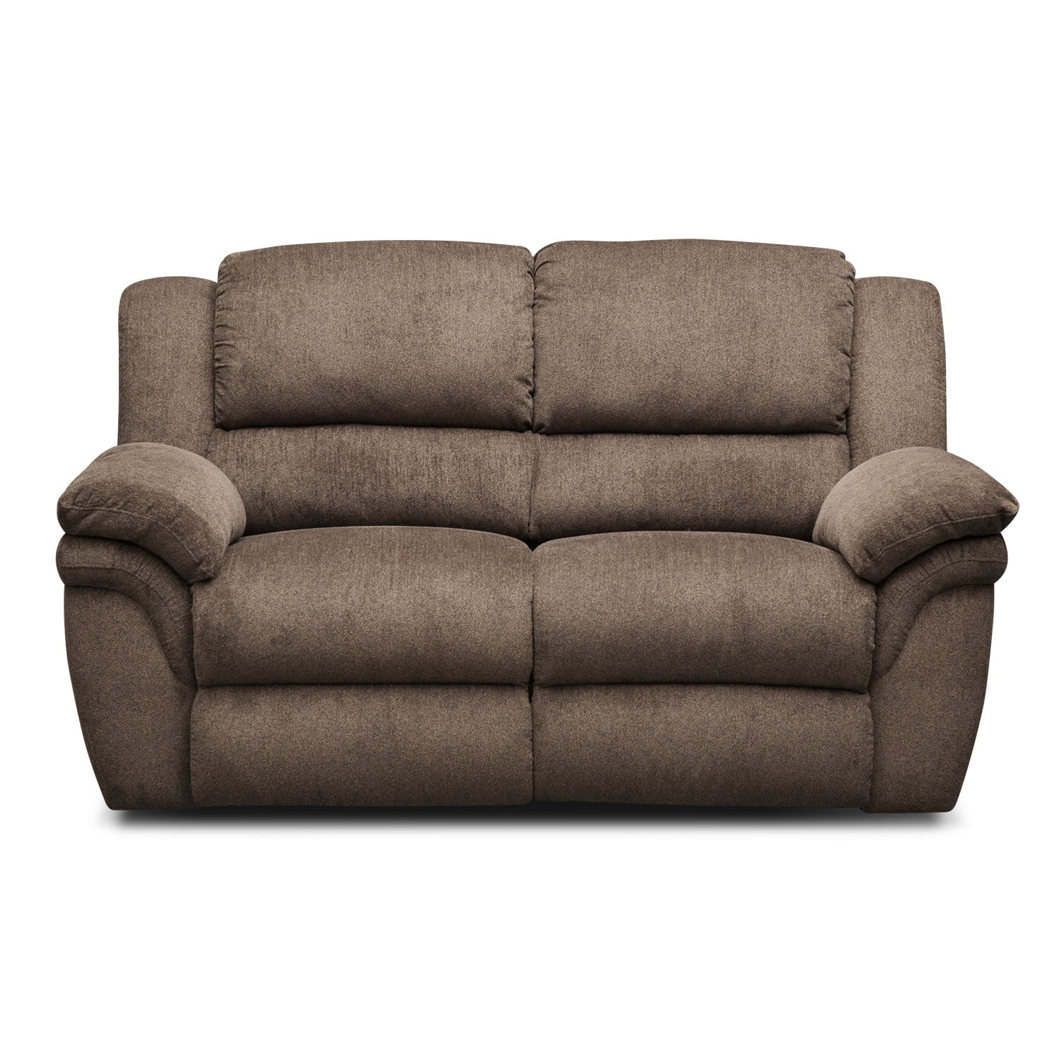 Hurry Up For Your Best Cheap Sofas On Sale: Aldo Manual Reclining Loveseat - Mocha