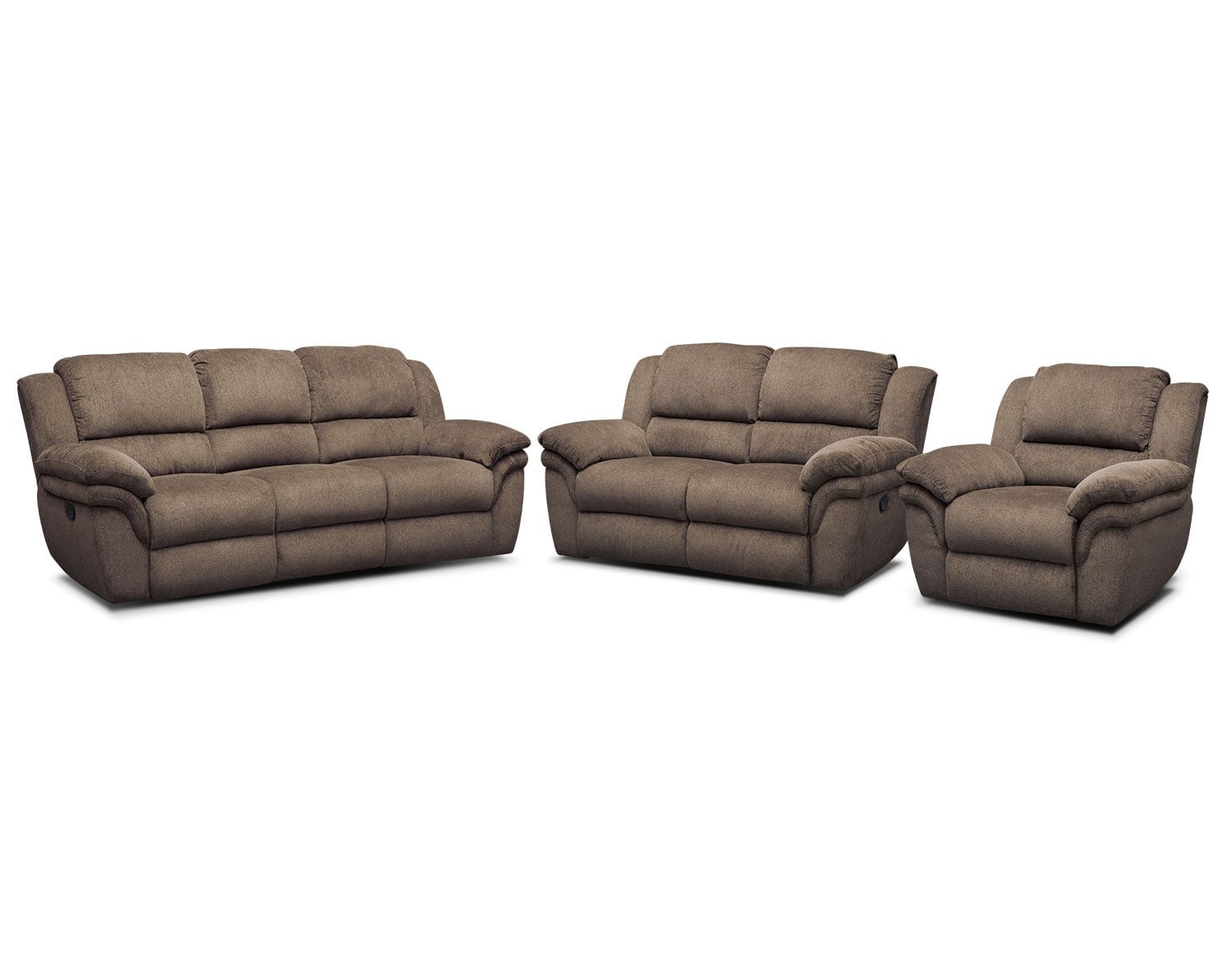 The Aldo Manual Reclining Living Room Collection