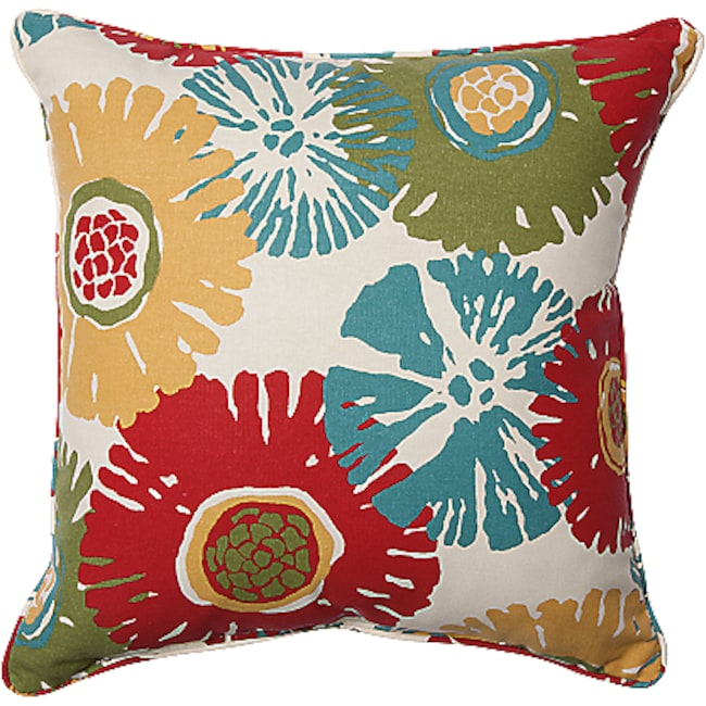 Accent and Occasional Furniture - Star Burst 2-Piece Accent Pillows