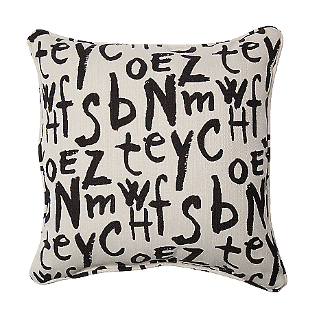 Accent and Occasional Furniture - American Grafitti 2-Piece Accent Pillows - American Grafitti Raven