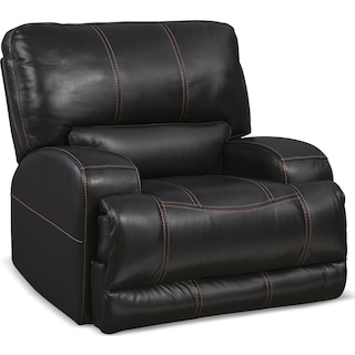 Barton Power Recliner - Black
