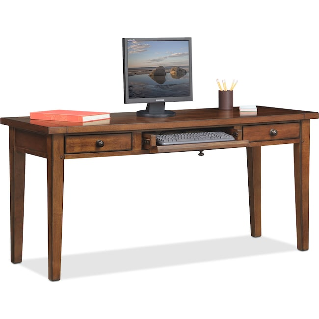 Home Office Furniture - Morgan Desk - Brown