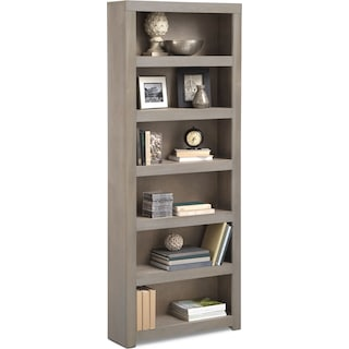 "Bricklin 84"" Bookcase - Driftwood"