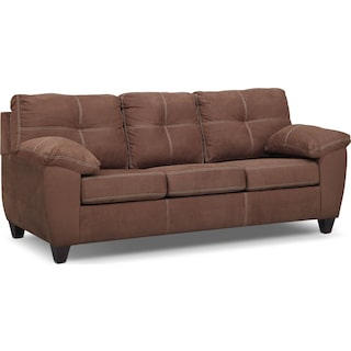 Ricardo Queen Memory Foam Sleeper Sofa - Coffee