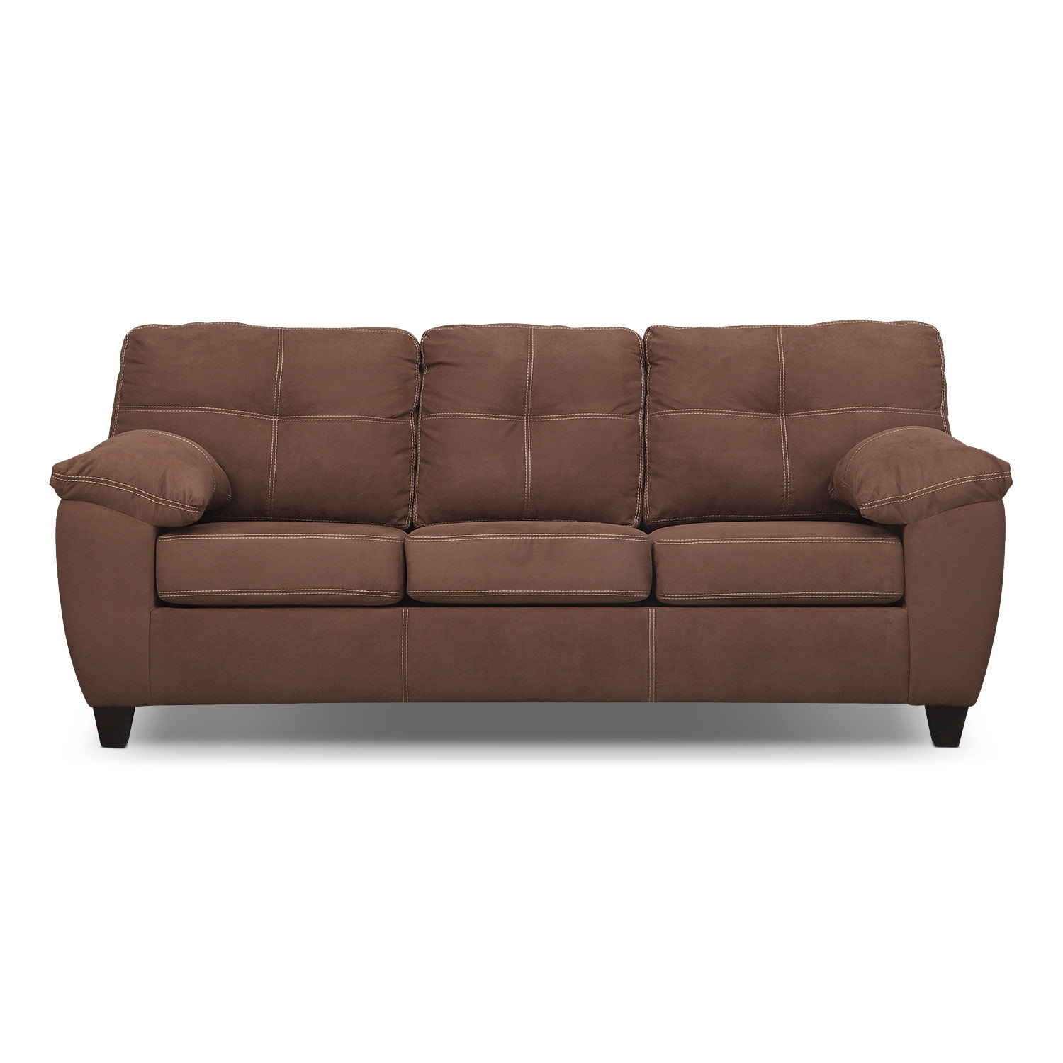 Ricardo Queen Memory Foam Sleeper Sofa   Coffee By Factory Outlet