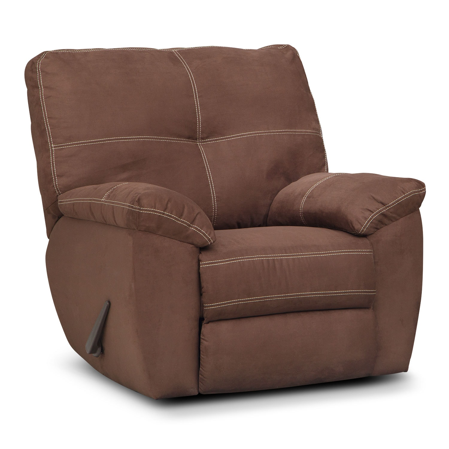 Living Room Furniture - Rialto Glider Recliner - Coffee