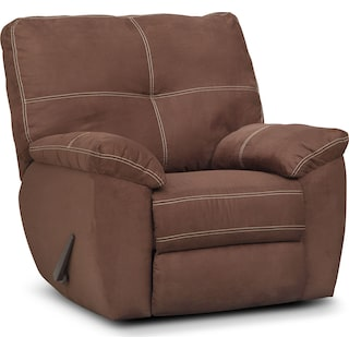 Ricardo Manual Glider Recliner - Coffee