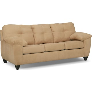 Ricardo Queen Memory Foam Sleeper Sofa - Camel