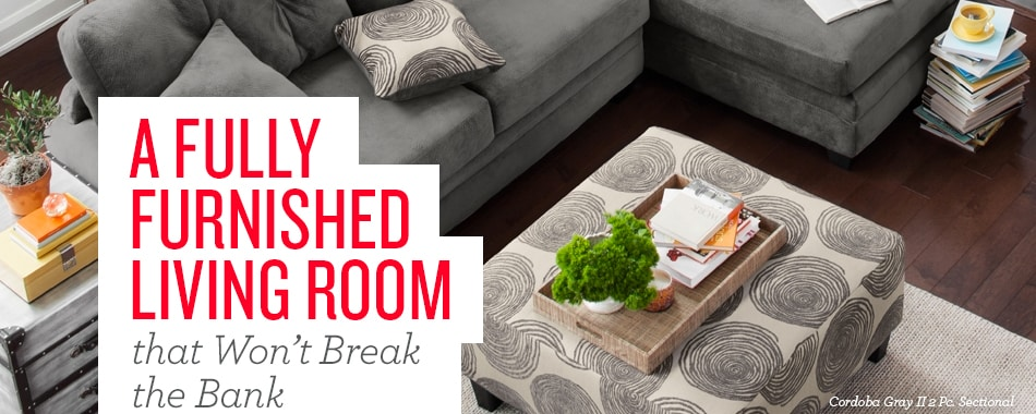 Learn how to furnish your living room for under $1500