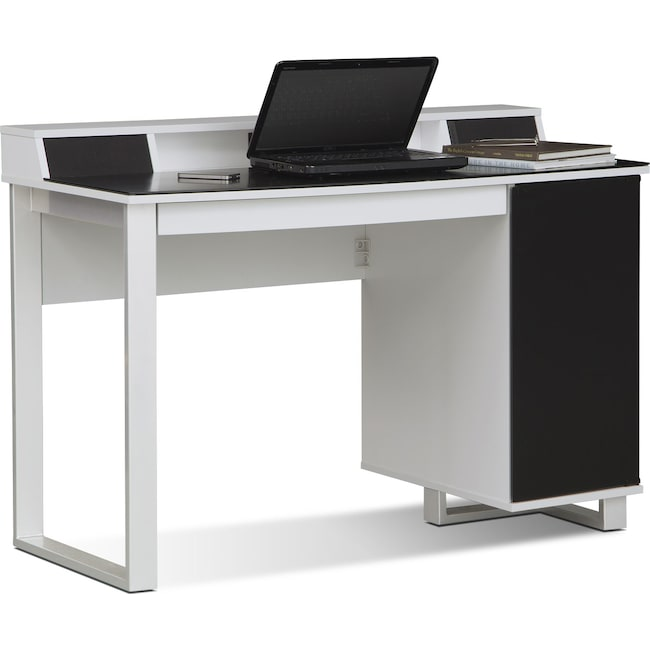 Home Office Furniture - Pacer Home Office Desk with Sound - White