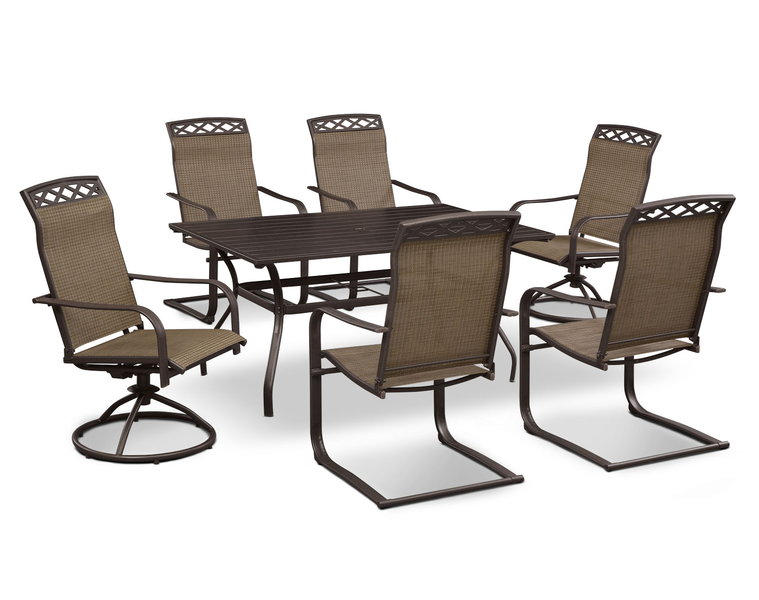 The Terrace Outdoor Dining Room Collection