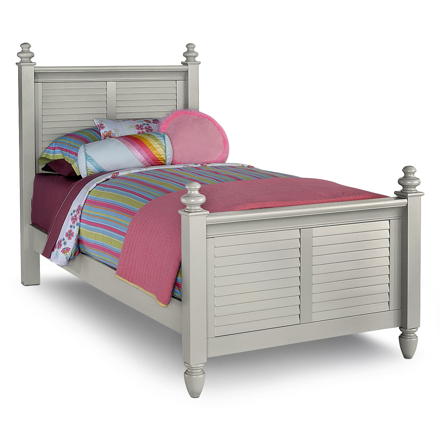 Seaside Gray Full Bed