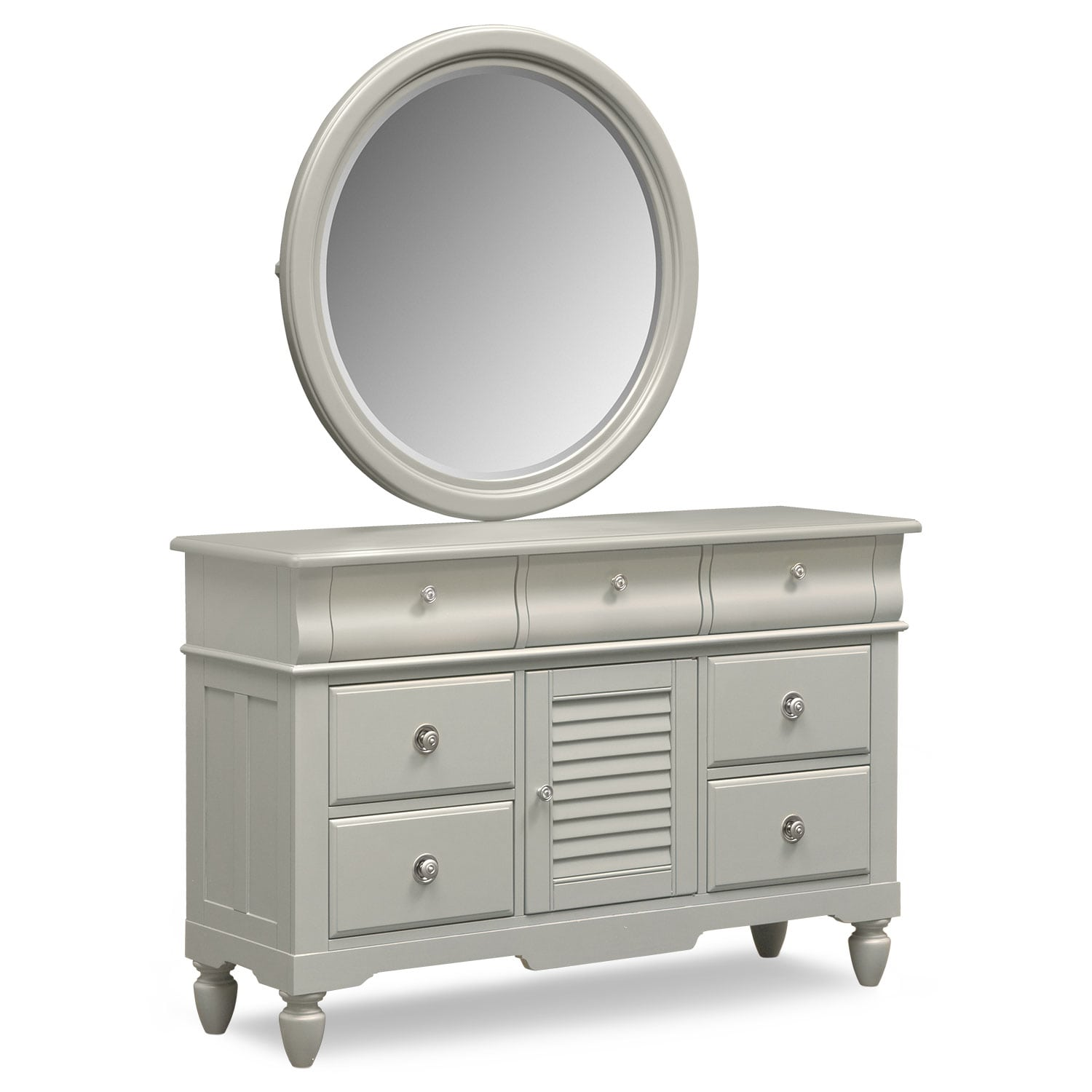 Kids Furniture - Seaside Dresser and Mirror