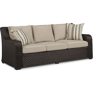 Doral Outdoor Sofa - Tan