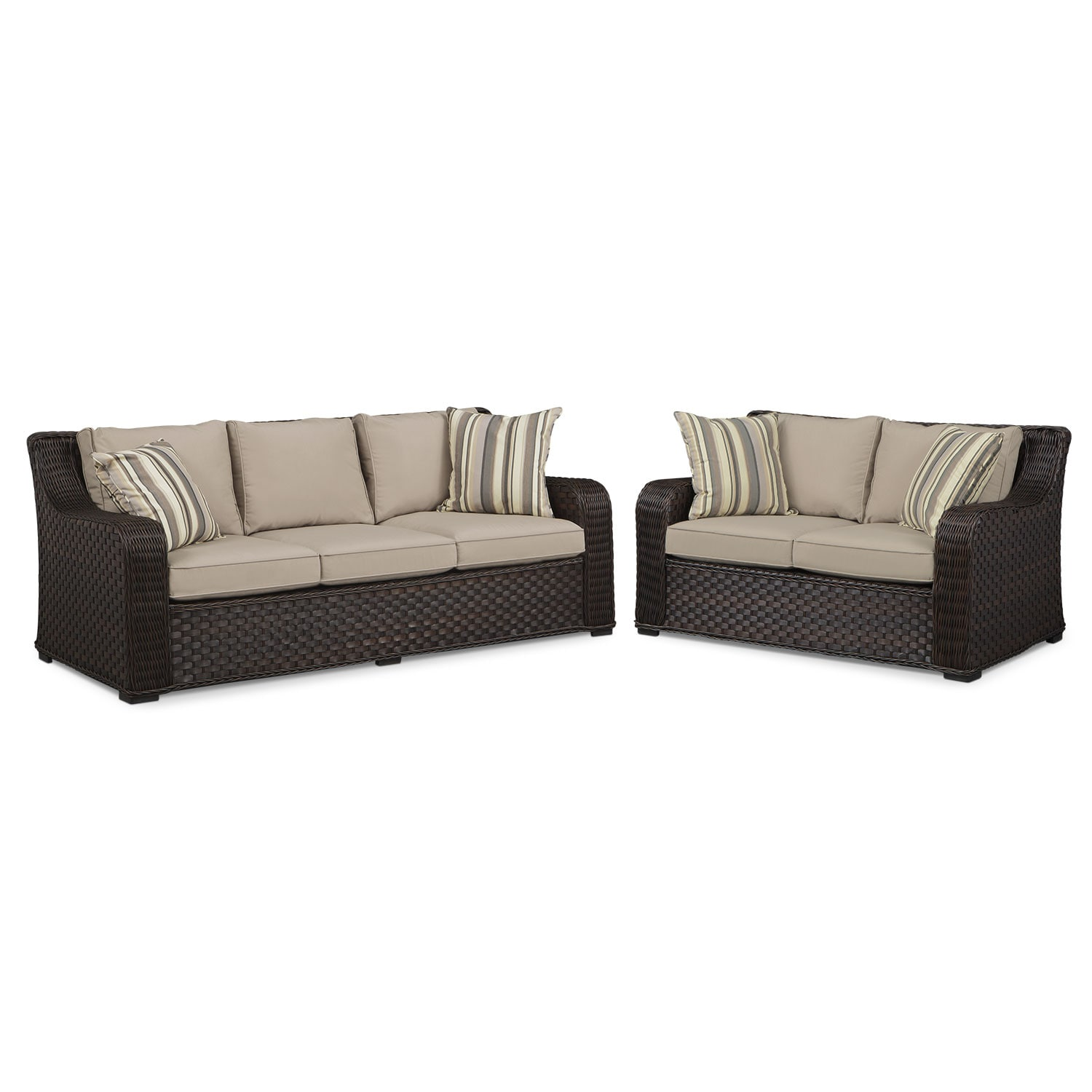 Doral 2 Pc. Outdoor Living Room