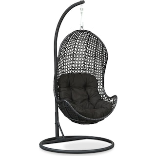 Kona Outdoor Egg Chair - Black