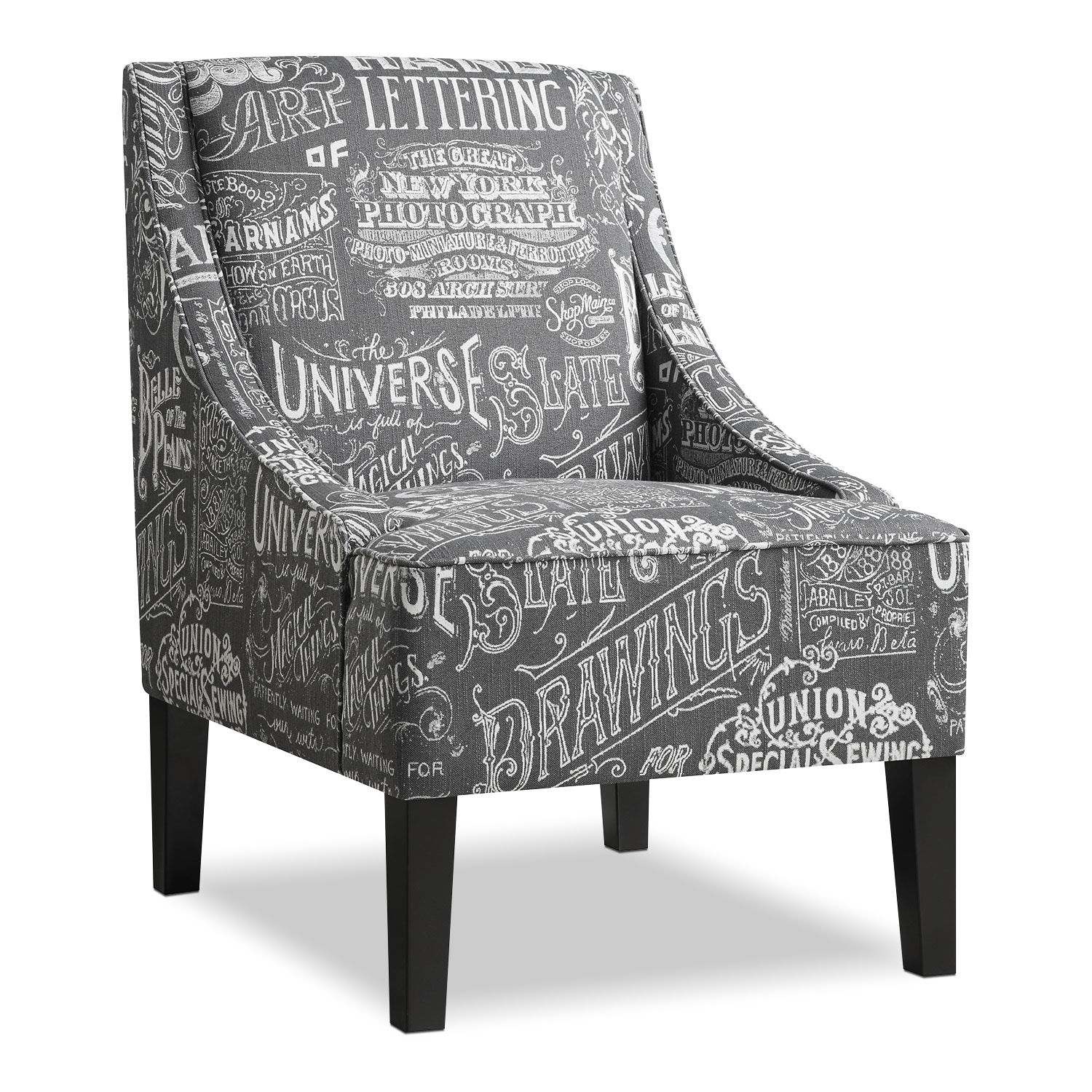 Living Room Furniture - Carter Accent Chair