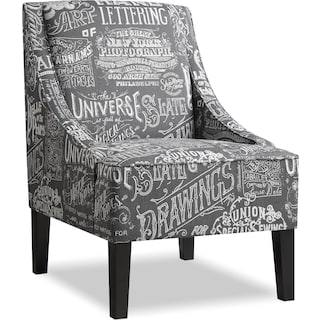 Carter Accent Chair - Gray