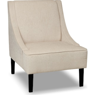Cecily Accent Chair - Beige