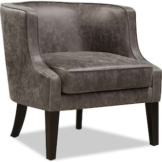 Casey Accent Chair - Gray