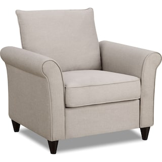 Denton Accent Chair - Beige