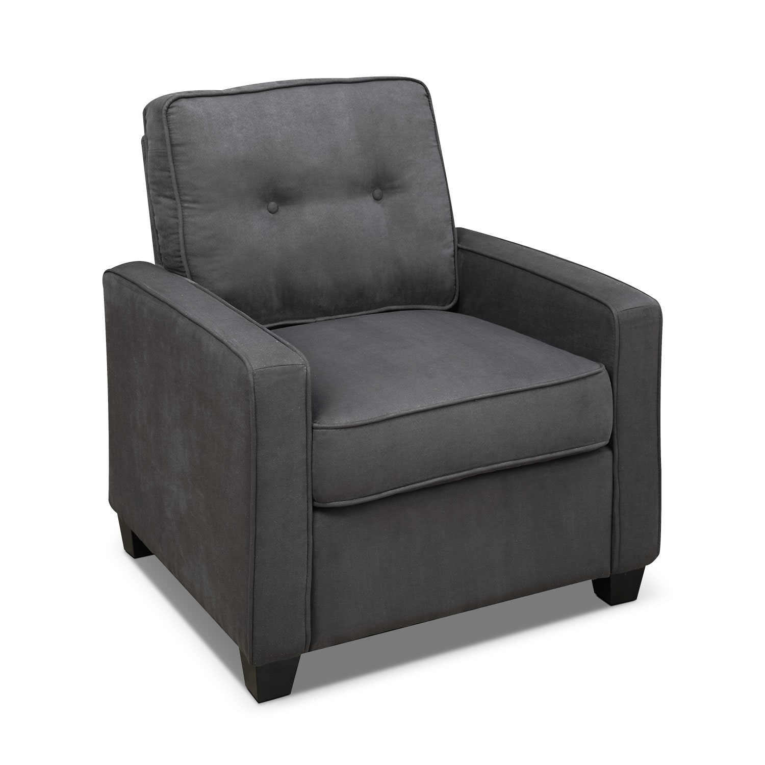 Living Room Furniture - Conway Accent Chair - Gray