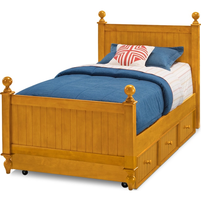 in storage beds by pinewood wholesale white lulu drawers color and twin size w with bed poundex farm trundle