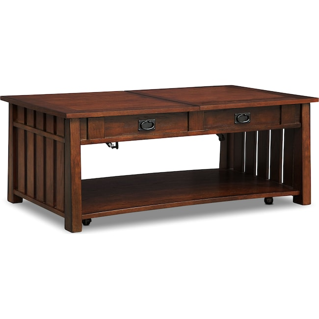 Accent and Occasional Furniture - Tribute Lift-Top Cocktail Table - Cherry