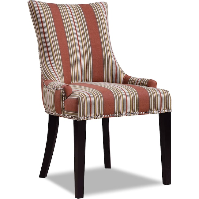 Living Room Furniture - Paige Accent Chair - Striped