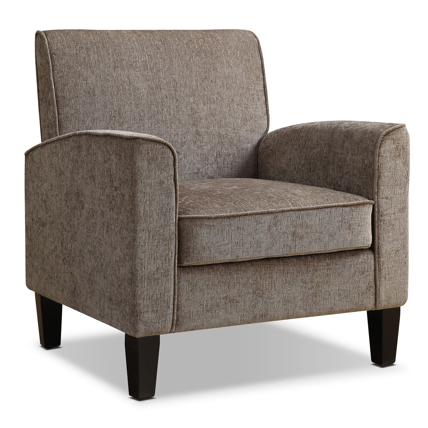 Living Room Furniture - Southie Accent Chair - Gray