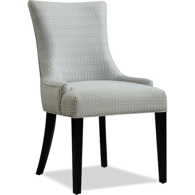 Living Room Furniture - Farren Accent Chair - Mist