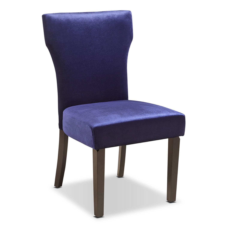 Keene Accent Chair - Plum