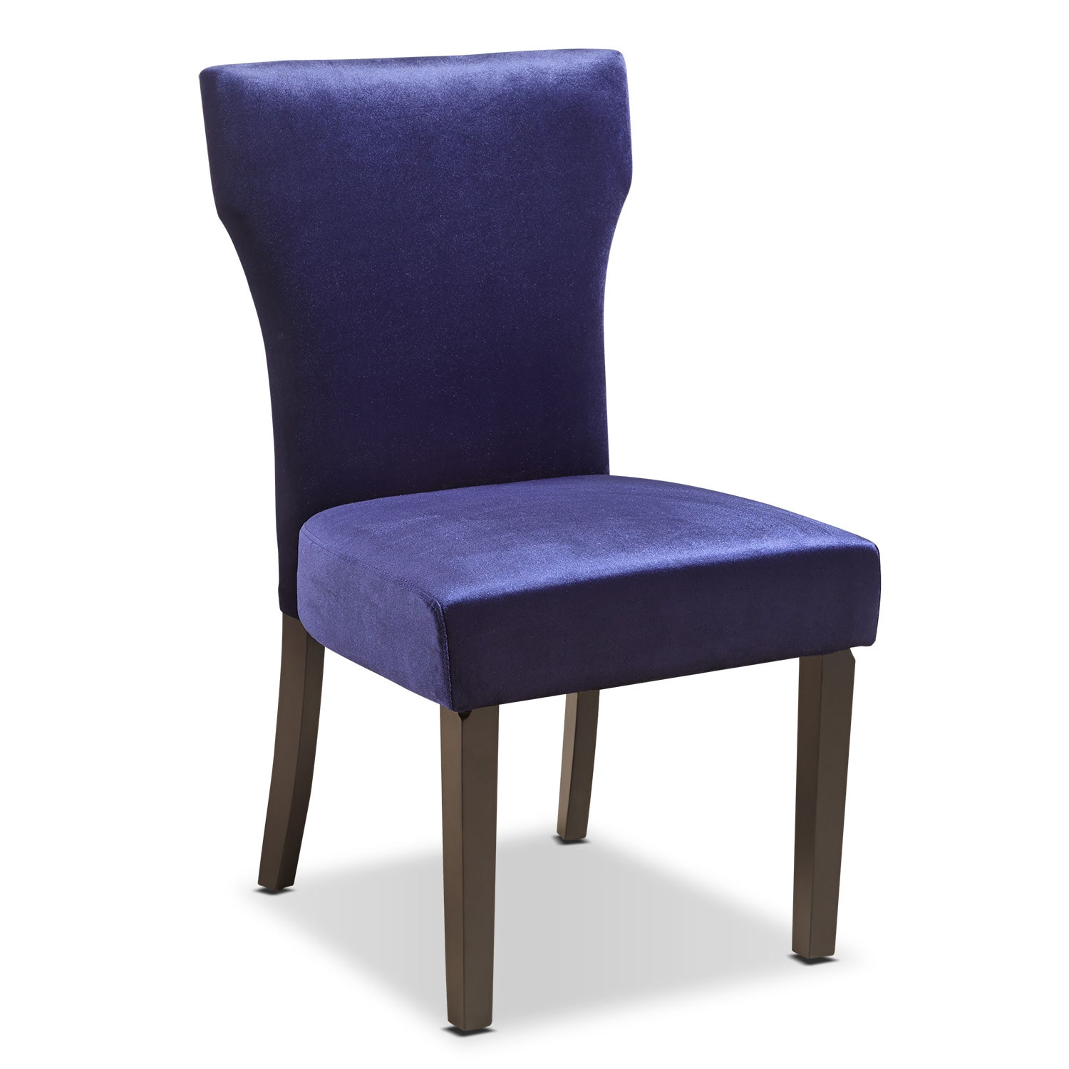 Dining Room Furniture - Keene Accent Chair - Plum