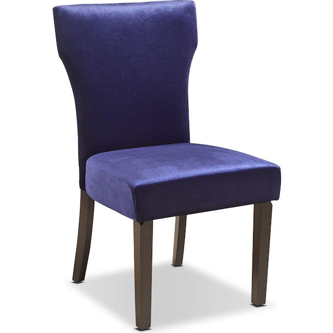 Accent and Occasional Furniture - Keene Accent Chair - Plum