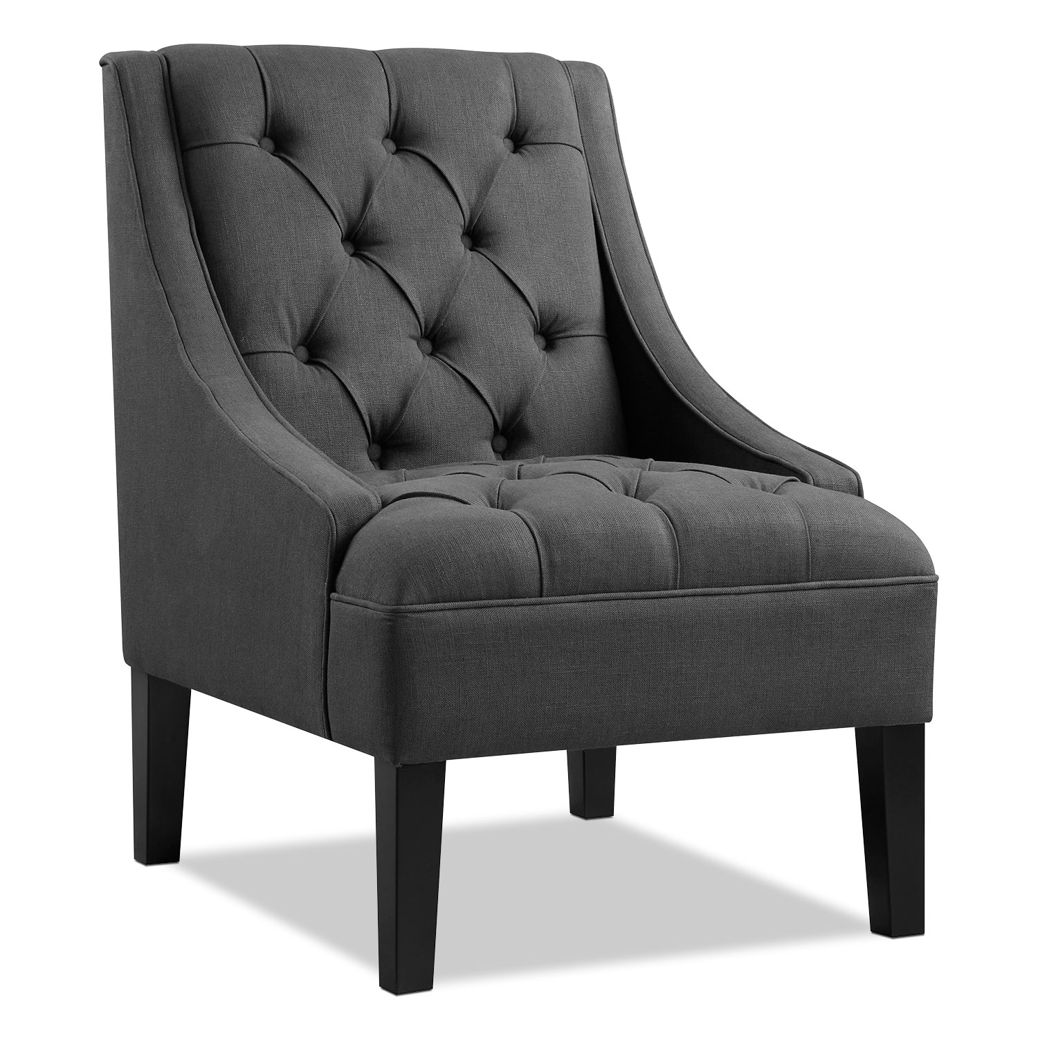 Greylin Accent Chair Gray