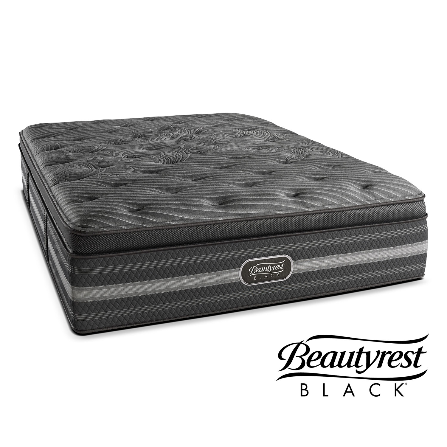 Merveilleux Natasha Plush Mattress By Beautyrest Black