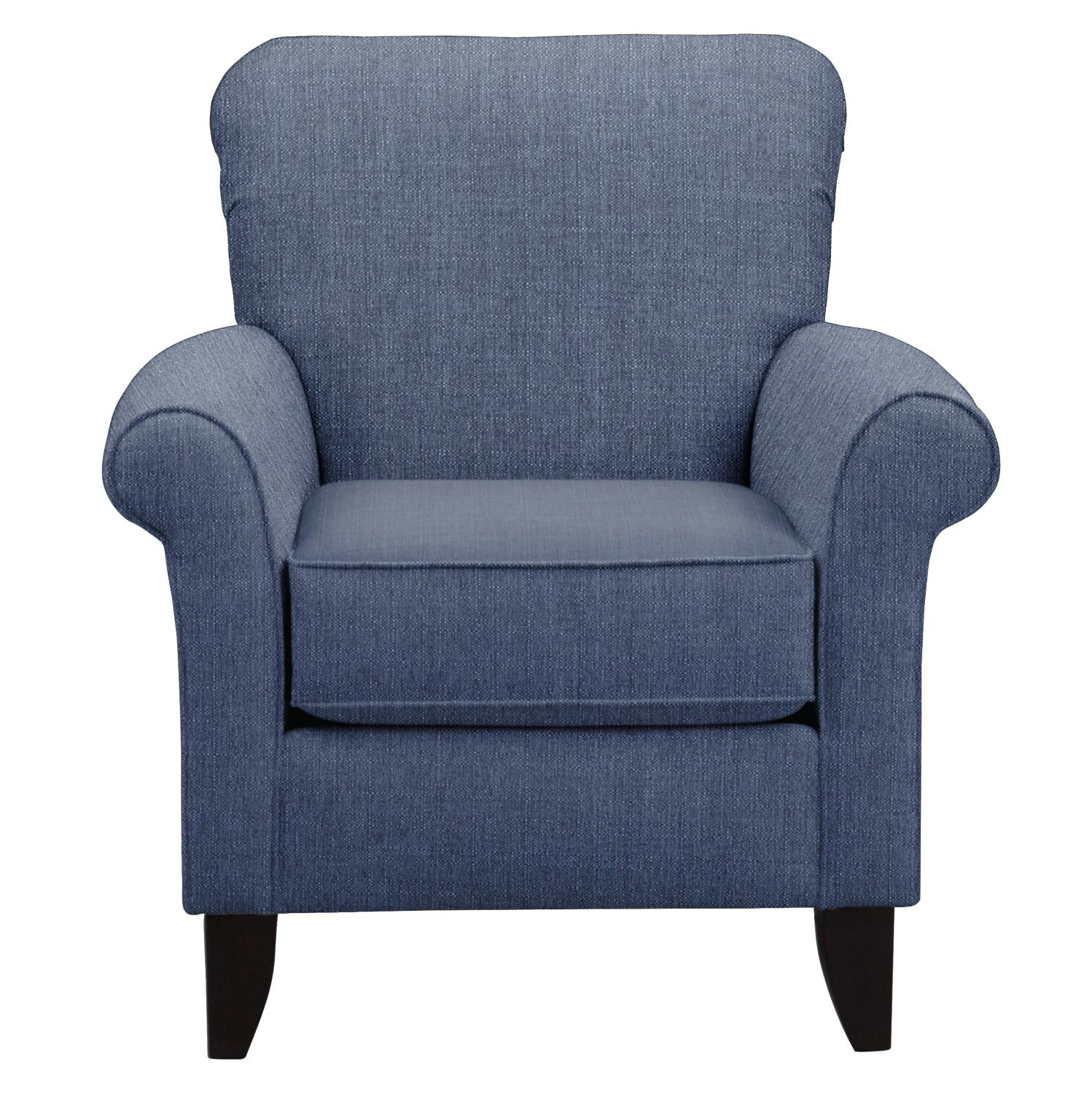 Living Room Furniture - Tracy Accent Chair - Blue