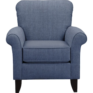 Tracy Accent Chair - Blue