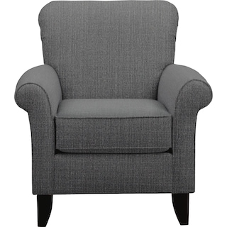 Evanston Accent Chair Value City Furniture And Mattresses
