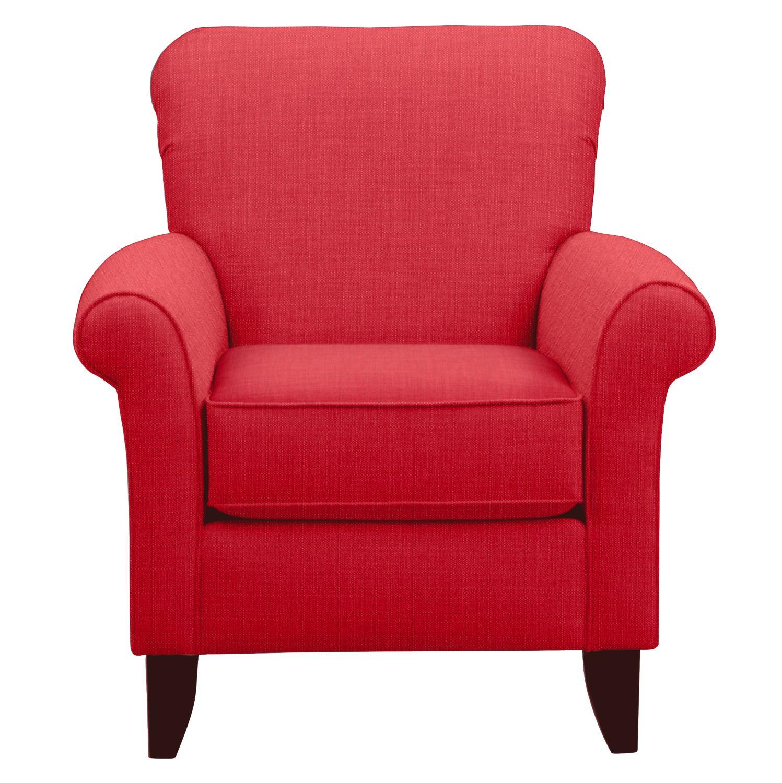 Tracy Chair w/ Depalma Cherry Fabric
