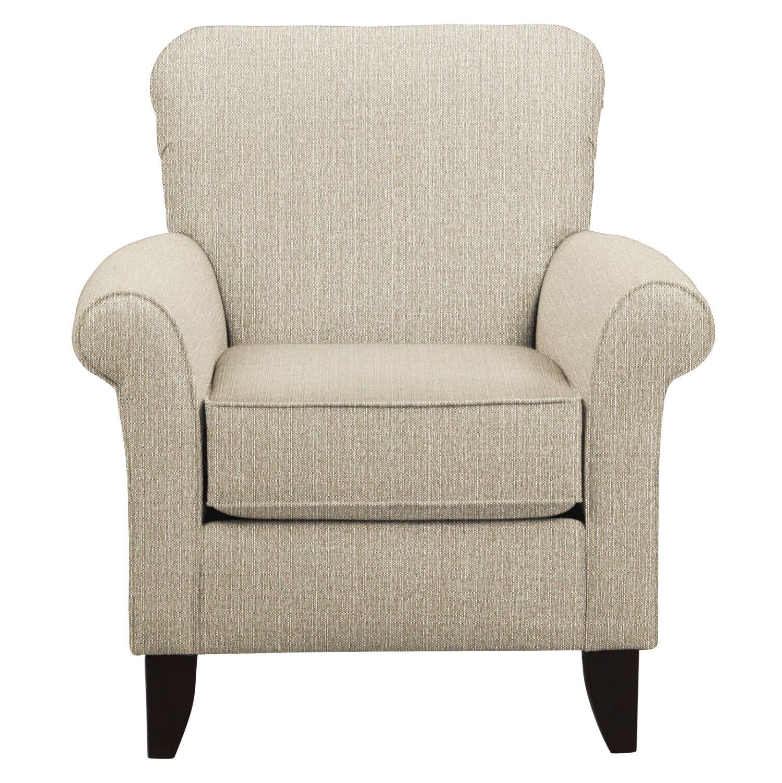 Tracy Chair w/ Depalma Taupe Fabric