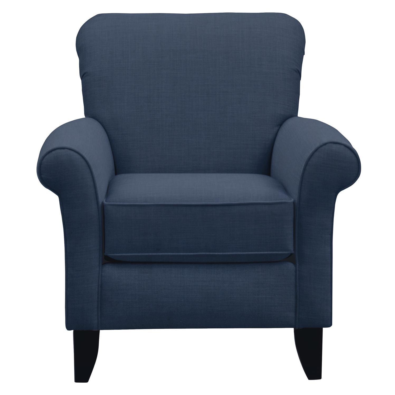 Tracy Chair w/ Oakley III Ink Fabric